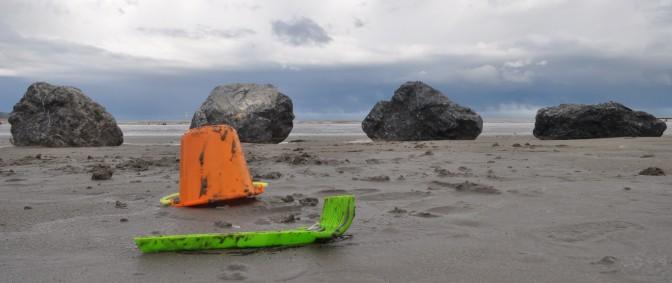 Sonne, Regen, Hagel, Sturm … eine irische Stunde am Meer