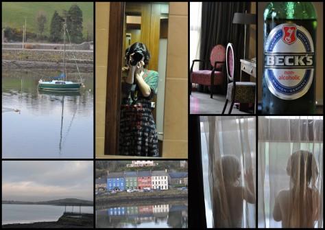 Bantry, Co. Cork - Hotelzimmer und Ausblick