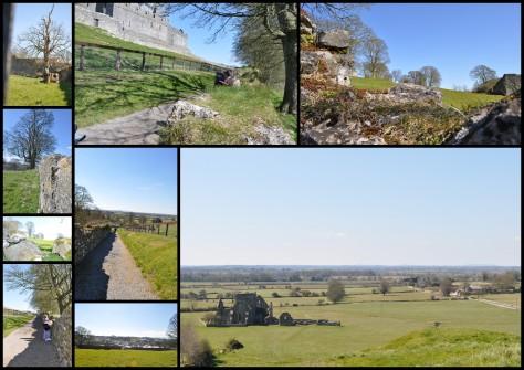 Wanderweg zum Rock of Cashel