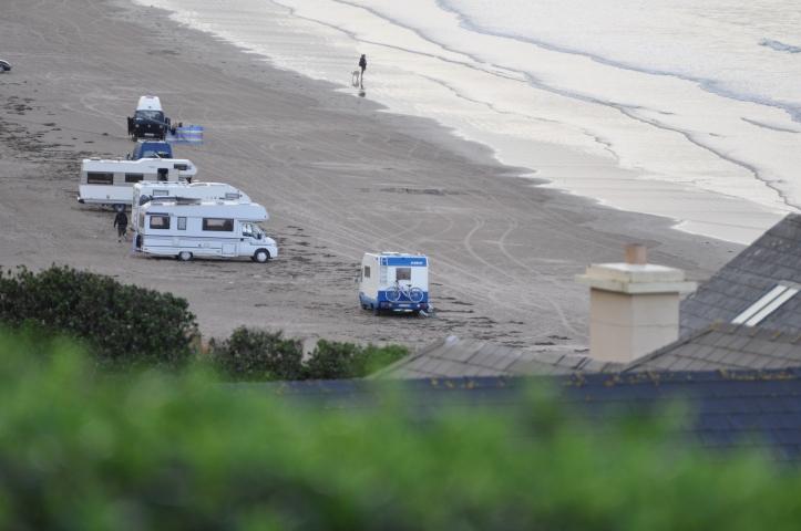 Camping am Inch Beach