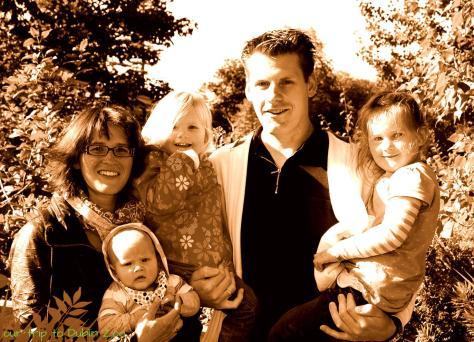 Familienbild im Dublin Zoo 09/2013