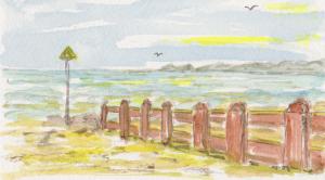 The Beach at Tywyn