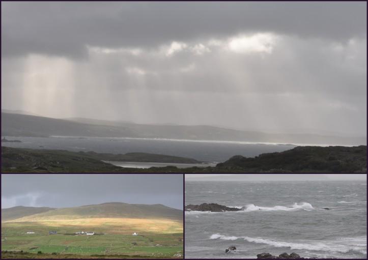 Regen und Sturm in Mayo